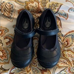 Girl's Mary Jane Dress Shoes NAVY BLUE Size 11.5